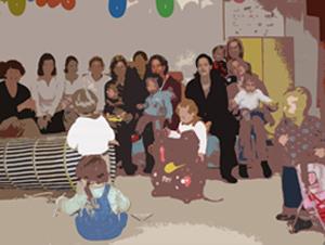 Start eines Alpha(bethisierungs)kurses im Goldbekhaus – Für Mütter mit Kleinkindern